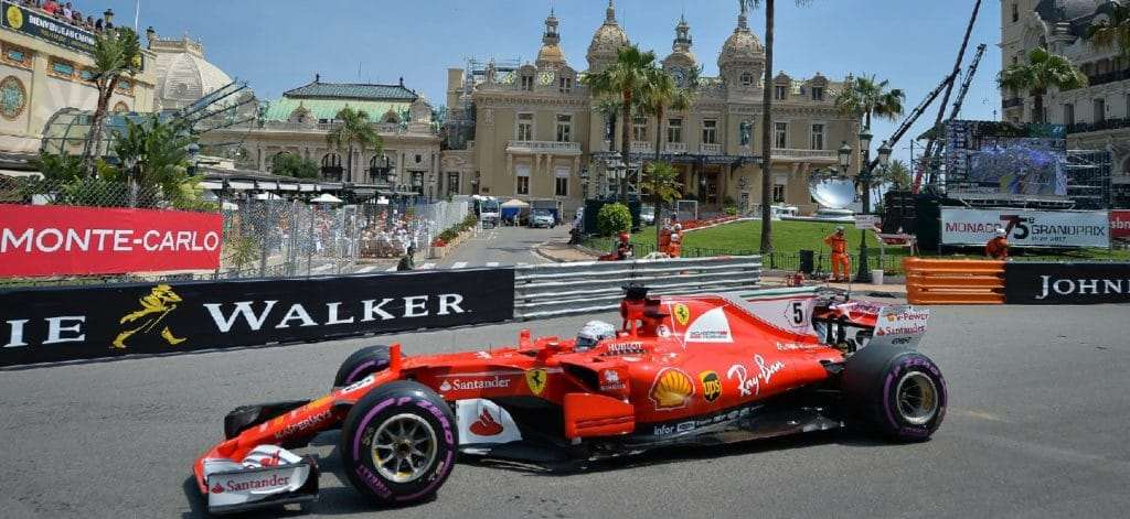 Deposit of customers transferred from Nice to the Monaco Grand Prix